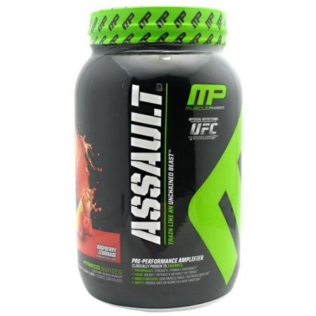 Muscle pharm assault protein